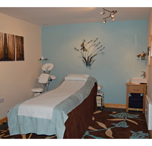 Natroma Holistics treatment room in Stourbridge West Midlands